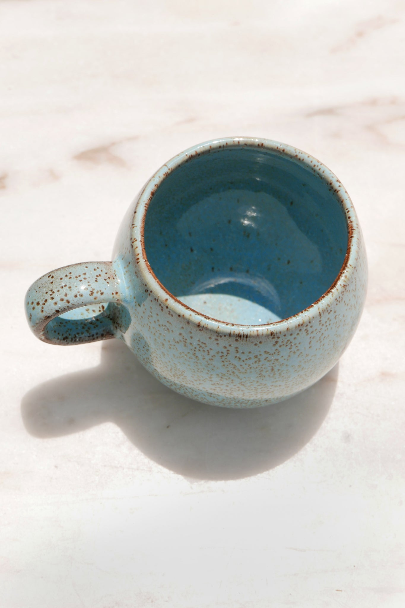 PALAS Handmade Ceramic Tea Cup - Blue