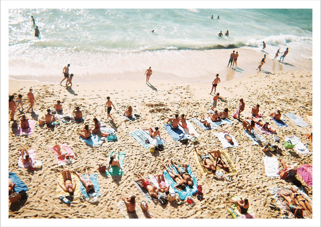 Post Card - Beach energies, Carcavelos, 2016