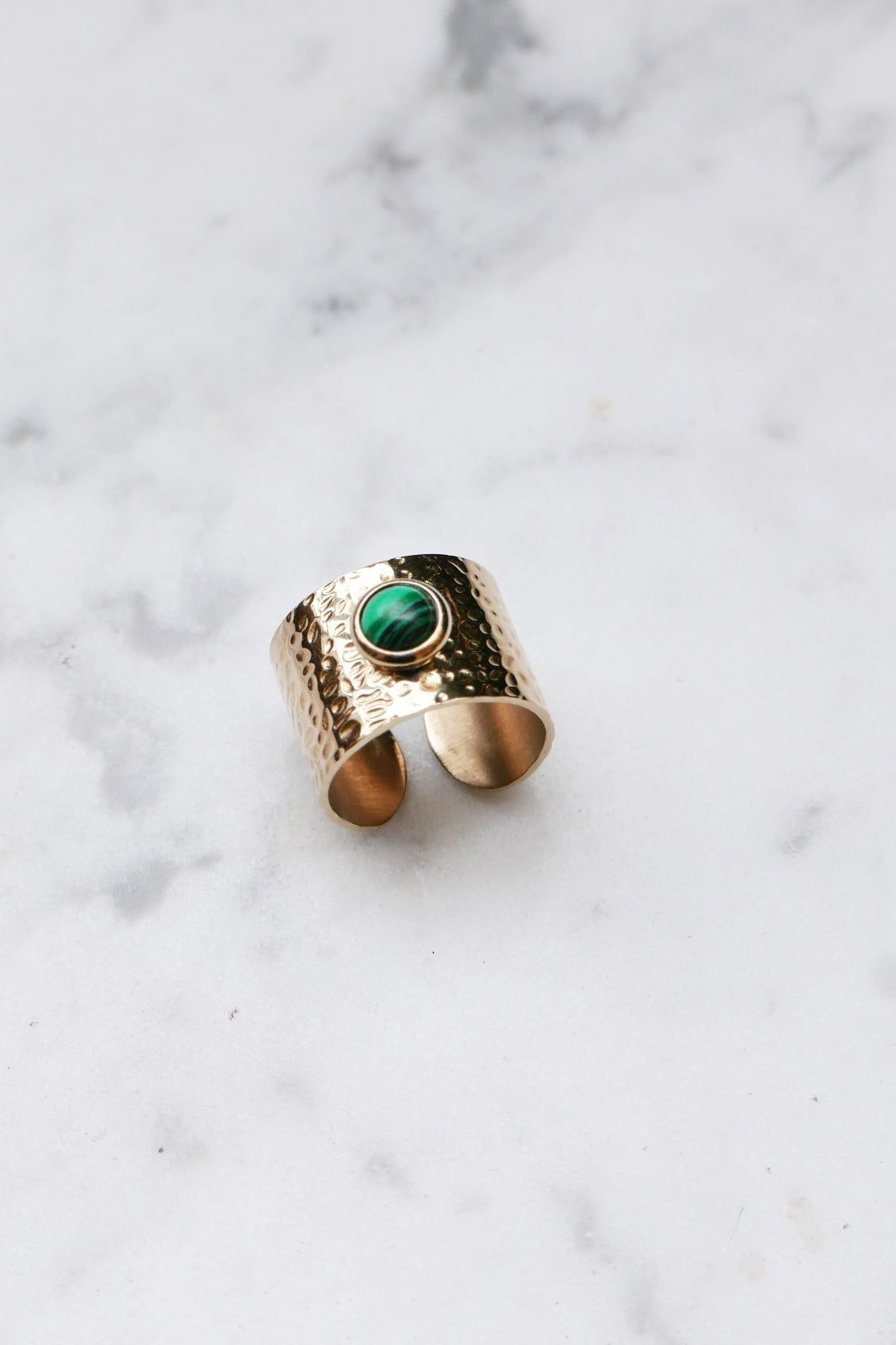 Leila Malachite Ring