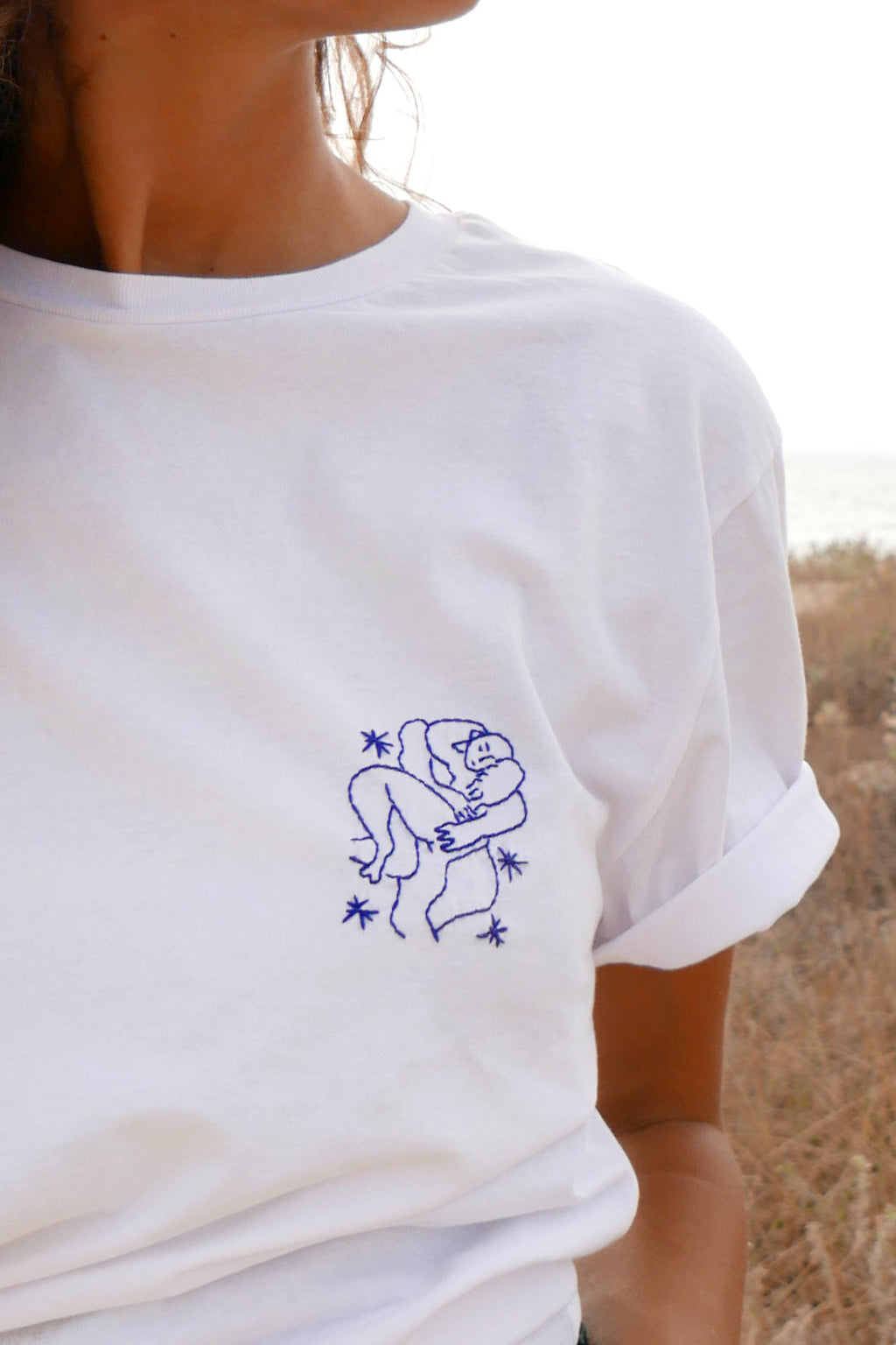 Embroidered t-shirt - Matisse
