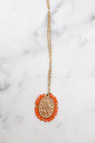 Santa Maria Necklace - Coral