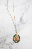 Santa Maria Necklace - Dark Green