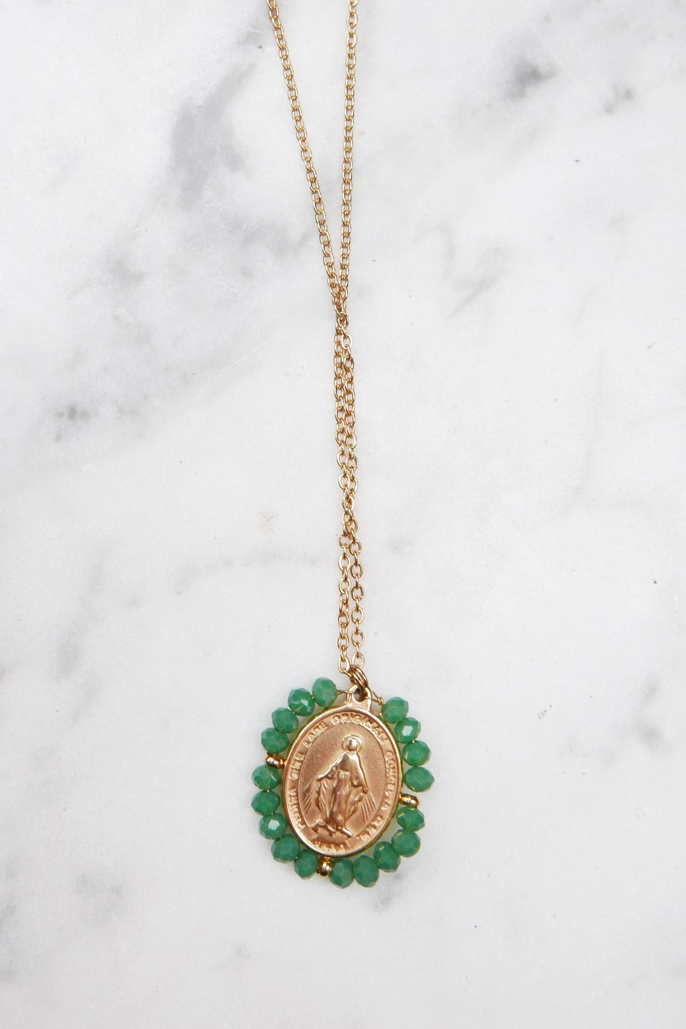 Santa Maria Necklace - Emerald Green