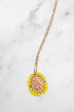 Santa Maria Necklace - Yellow