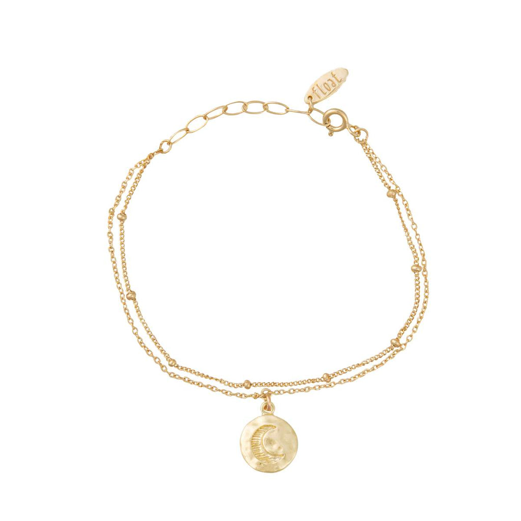 float Mond Armband Gold