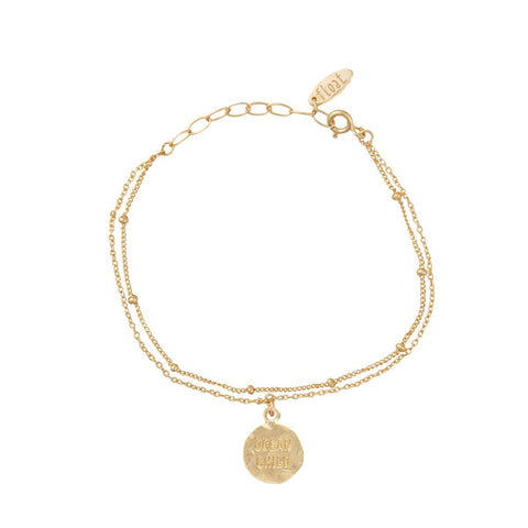 float Ocean Child Armband Gold