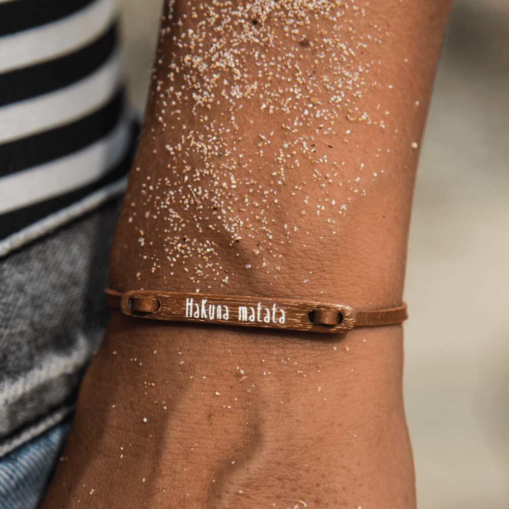 float Message Armband Hakuna Matata