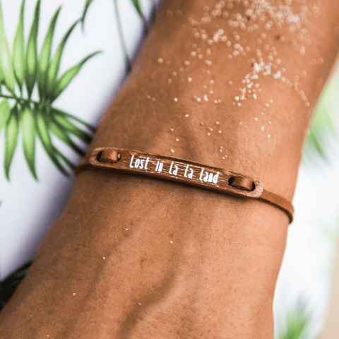 float Message Armband Lost in Lala Land