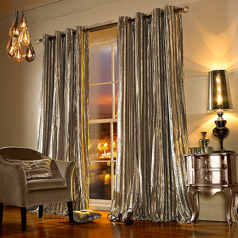 Iliana Praline Curtains