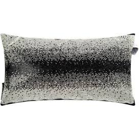 Messina Monochrome Filled Cushion 18cm x 32cm