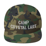 Camp Crystal Lake - Snapback Hat (Special Camo Hat)