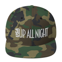 USA Up All Night / Snapback Hat (Special Camo Edition)