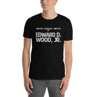 Written, Produced & Directed by Edward D Wood Jr. - Plan 9 Unisex T-Shirt
