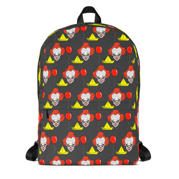 Pennywise the Dancing Clown - IT - Backpack (Black Variant)