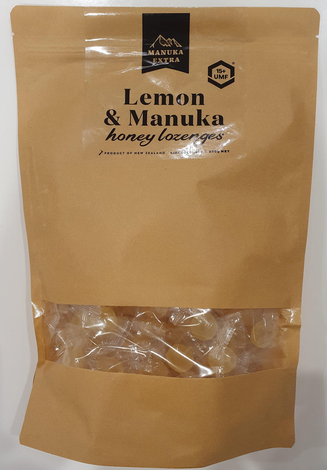 Manuka Honey UMF 15+ and Lemon Lozenges