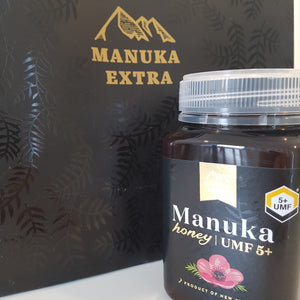UMF 5+ NZ Manuka Honey 500g