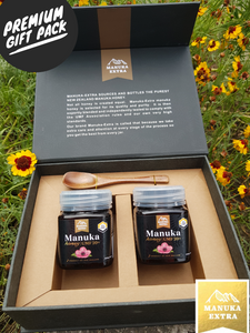 UMF 20+ 2x250g NZ Manuka Honey Premium Gift Pack