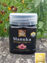 Load image into Gallery viewer, UMF 5+ NZ Manuka Honey 250g