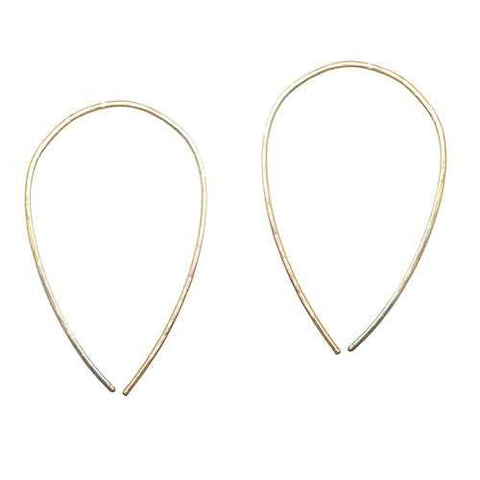 Hoops - Upside Down XL - RoseGold