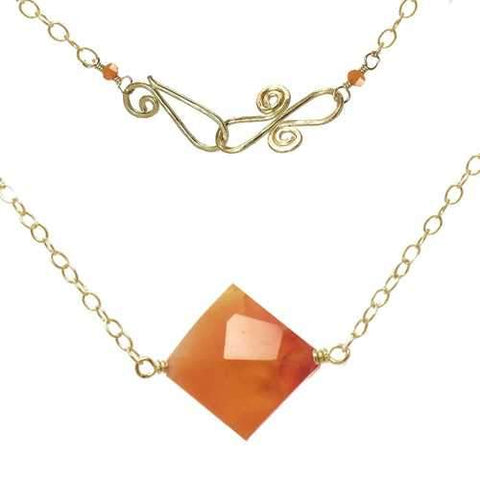 Necklace 328 - RoseGold