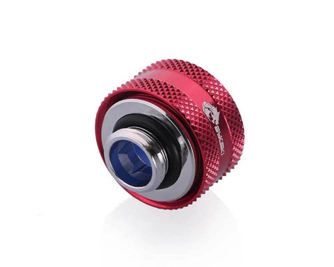 Bykski Anti-Off Rigid 16mm OD Fitting - Red (B-FTHTJ-L16)