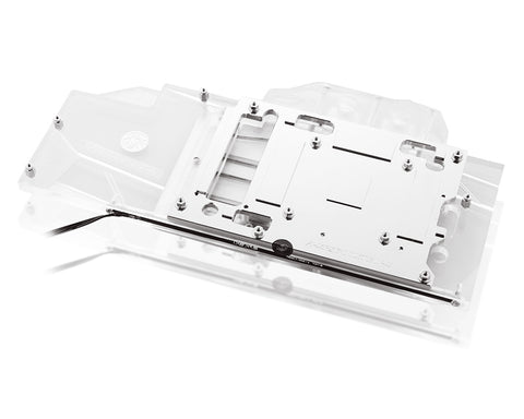 Bykski Full Coverage GPU Water Block for XFX RX 5700 XT - Clear W/ RBW (A-XF5700XTBW-X)