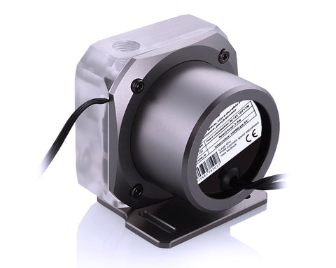 Bykski PMS5 Liquid Cooling 12V Pump - PWM Enabled Version 2 - Grey Mount (B-PMS5-NX-V2)