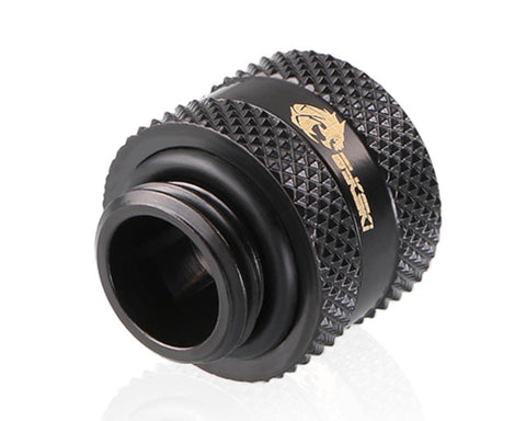 Bykski Rigid 12mm OD Fitting V2 - Black (B-HTJV2-L12)