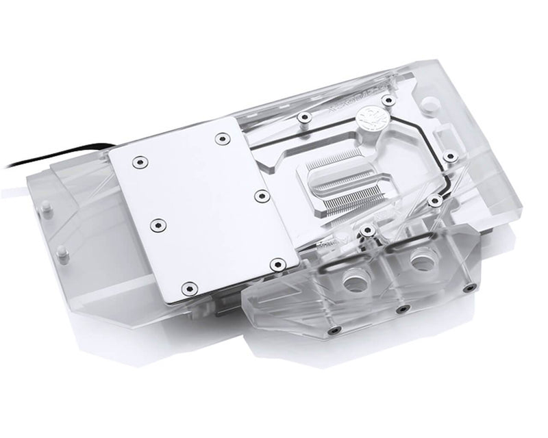 Bykski Sapphire RX 5700 XT Pulse Full Coverage GPU Water Block - Clear W/ RBW ( A-SP5700XT-X)