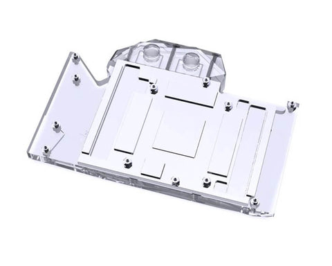Bykski Full Coverage GPU Water Block for RTX 3080/3090 Founders Edition - Clear
