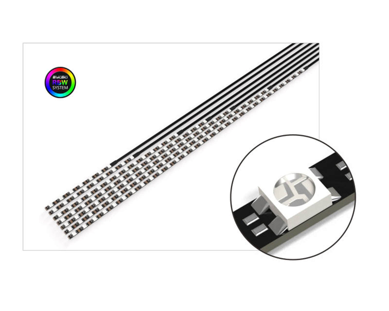 Bykski Replacement Flexible 5v Addressable RGB (RBW) LED Strip - 116mm
