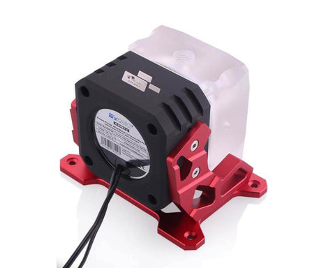 Bykski D5 Pump w/ Bracket and Armor - Red (B-UL-D5-X-R)