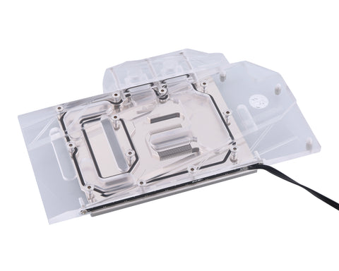 Bykski Full Coverage GPU Water Block for ASUS GTX 1660 O6G Si  - Clear W/ RBW (N-AS1660SI-X)