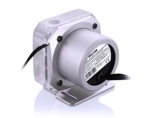 Bykski PMS5 Liquid Cooling 12V Pump - PWM Enabled Version 2 - Silver Mount (B-PMS5-NX-V2)
