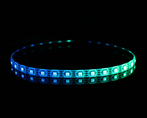 Bykski 5v Chassis Addressable RGB (RBW) LED Flexible Strip Light - 500mm (B-SF500LD-RBW)