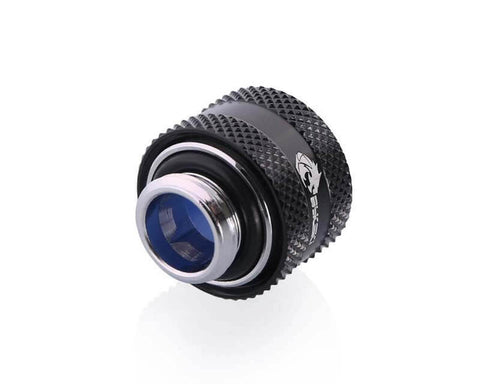 Bykski Anti-Off Rigid 12mm OD Fitting - Black (B-FTHTJ-L12)