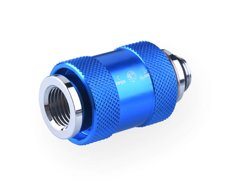 Bykski G1/4 Male to Female Pull Drain Valve (CC-HP-X-V2) - Blue