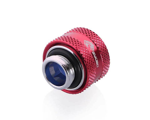 Bykski Anti-Off Rigid 12mm OD Fitting - Red (B-FTHTJ-L12)