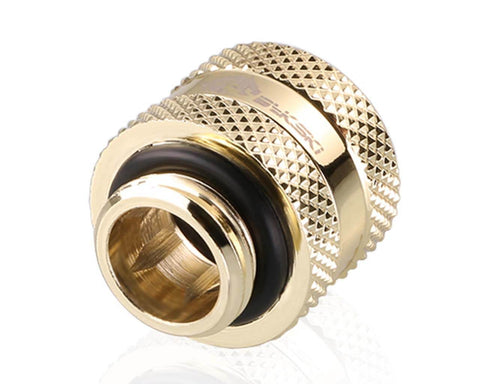 Bykski Rigid 12mm OD Fitting V2 - Gold (B-HTJV2-L12)