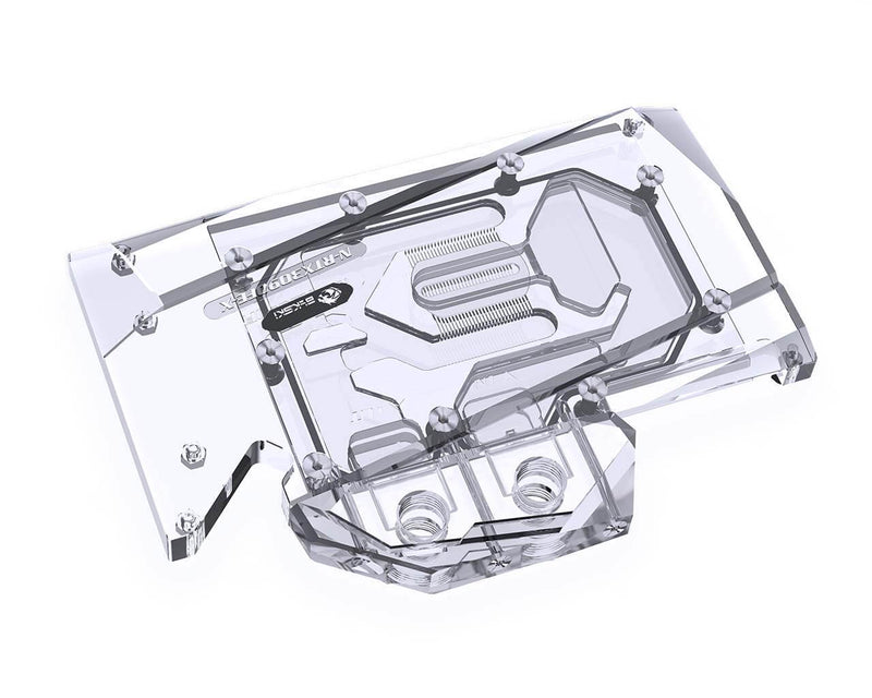 BSTOCK: Bykski Full Coverage GPU Water Block and Backplate for RTX 3080 Founders Edition (N-RTX3080FE-X)