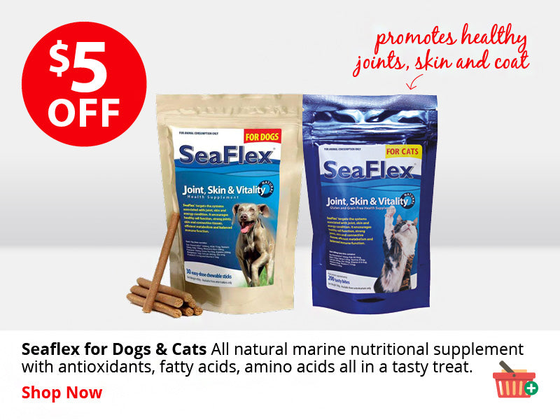 SeaFlex Joint, Skin & Vitality for Cats and Dogs ON SALE NOW