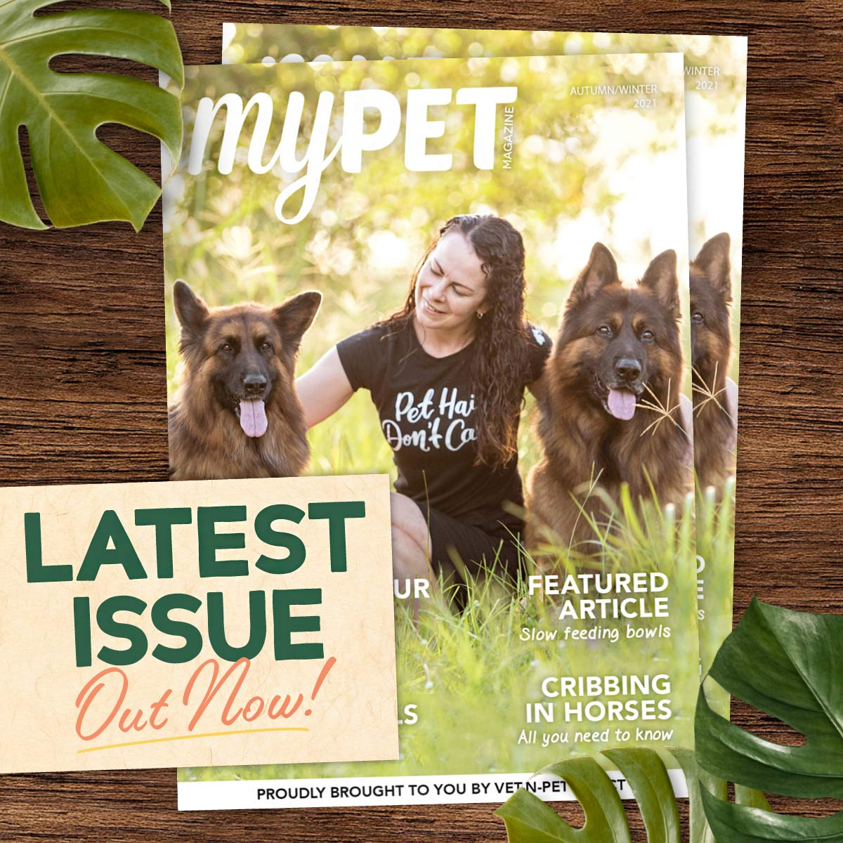 myPET Magazine FREE with every order