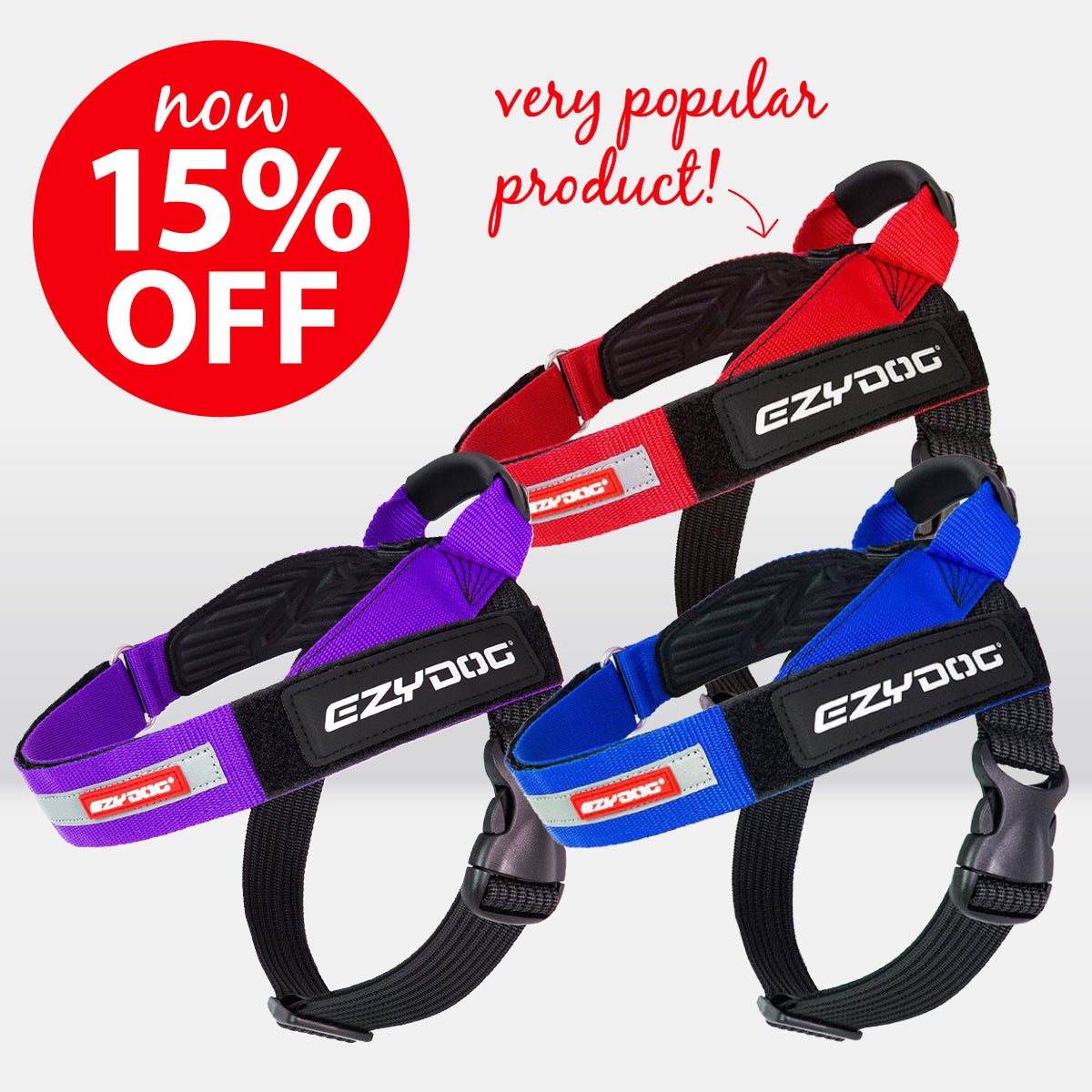 EzyDog Express Harness NOW ON SALE