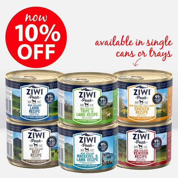 Ziwi Wet Food Cans - On Sale