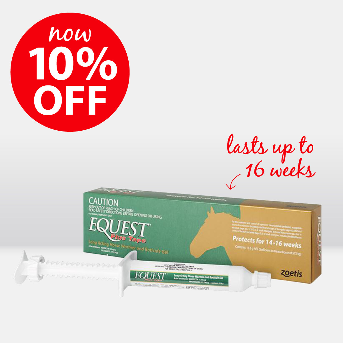Equest Plus Tape Gel on sale