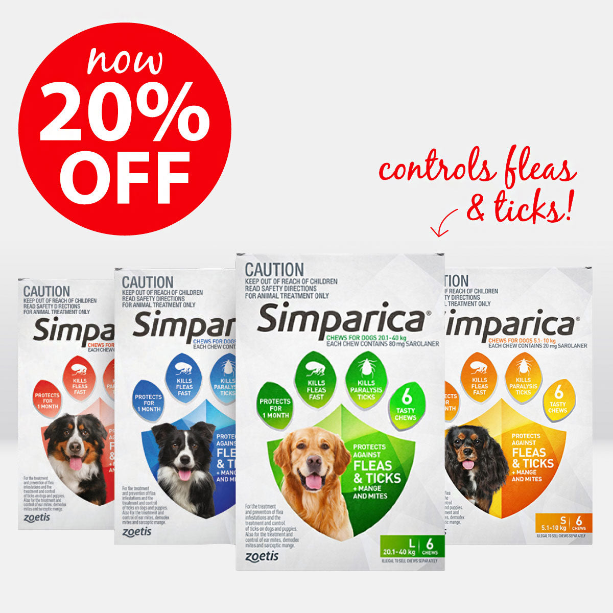 Simparica ON SALE