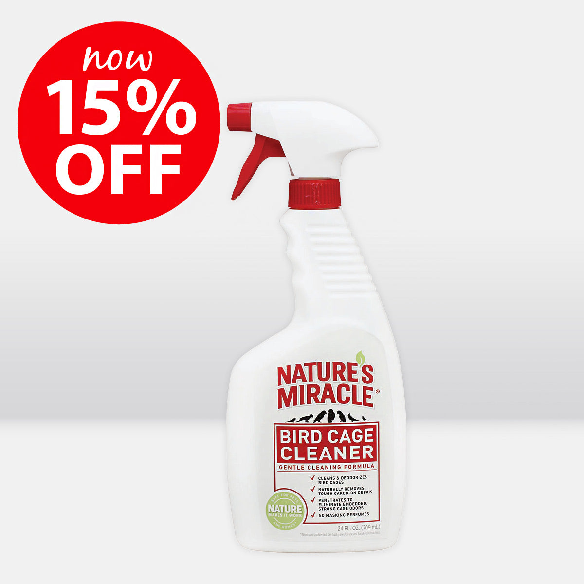 Nature's Miracle Bird Cage Cleaner ON SALE NOW