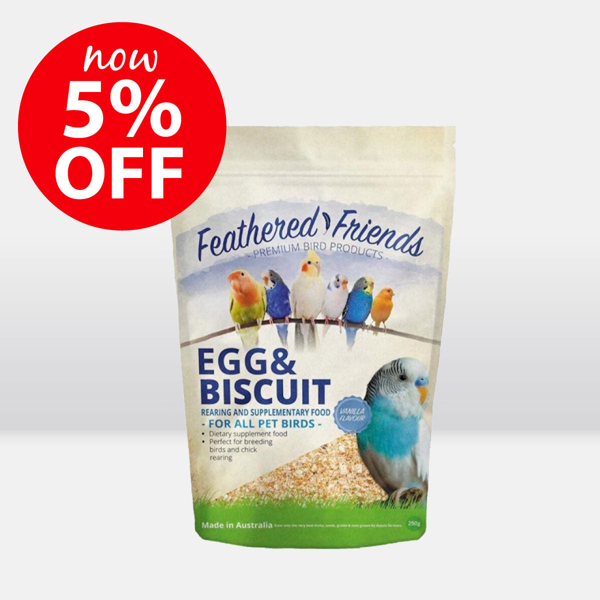 Feathered Friends Egg & Biscuit Rearing & Supplementary Food ON SALE