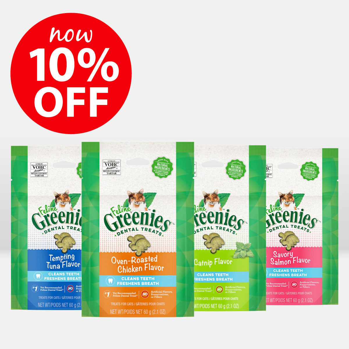 Feline Greenies ON SALE NOW