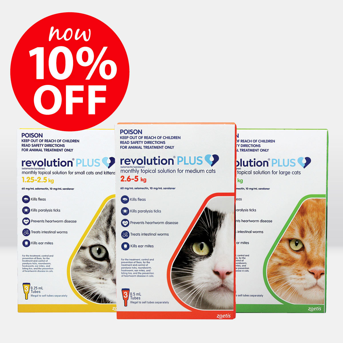 Revolution Plus for Cats ON SALE NOW